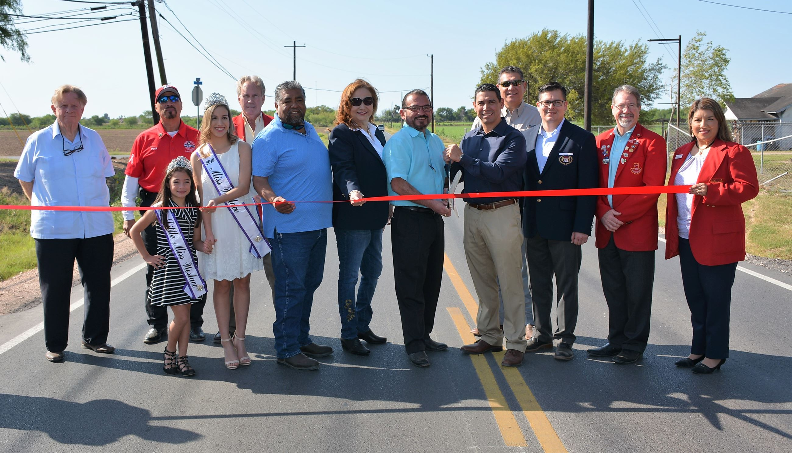 Milano Road Ribbon Cutting