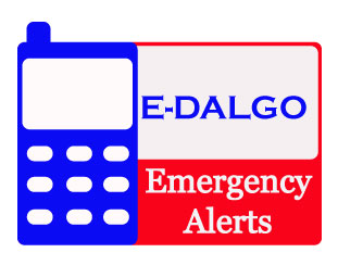 SIGN UP FOR E-DALGO EMERGENCY ALERTS TODAY! IT IS FREE AND YOUR